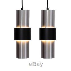 2 Retro Vintage Dutch Raak Holland Pendant Lights Lamps 60s 70s Danish Modern