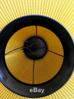 50s Atomic Vintage Lantern Plastic Lampshade Svend Aage Holm-Sorensen style