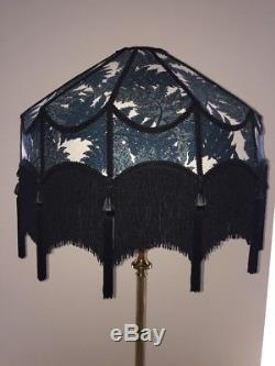 A House of Hackney Vintage/Victorian Downtown Abbey/Traditional Black Lampshade