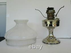 Antique / Vintage Aladdin Model 12 Platted Lamp with #601 Shade