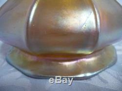 Beautiful Vintage Steuben Gold Aurene Lamp Shade, 4-1/4 Tall