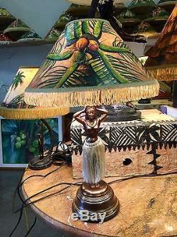 Hula Lamp Lampshade for Vintage Hula Lamp