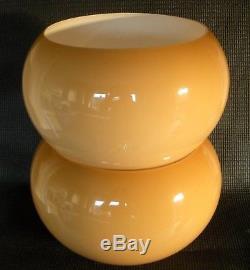 Matching Pair Vtg/Retro Guzzini Style Mushroom Shades Mid Century Modern 60's