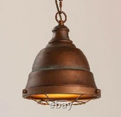 Metal Glass Pendant Lights Vintage Industrial Farmhouse Light, Bar, Restaurant
