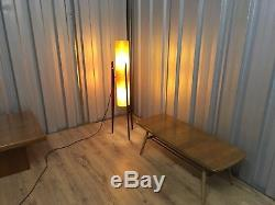 Mid Century Vintage Orange Fibre Glass Rocket Lamp Seriously Cool Delivery Poss