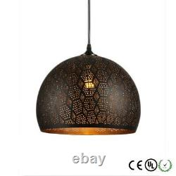 Moroccan Metal Pendant Light, Vintage, Iron Pendant Lights, Modern, Contemporary