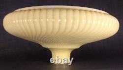 New 16 Antique Style Rib Swirl Nu-Gold Torchiere Lamp Shade Made in USA #TS022