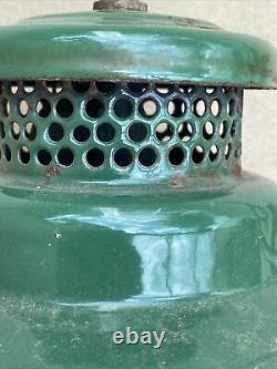 Old Australian Made Coleman 249 Scout Kerosene Pressure Lamp with Colex shade