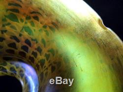 Quezal glass snakeskin vintage art deco glass lamp shade mozeypictures Images
