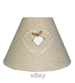Shade Shabby Chic Vintage Charming love hearts design Fabric Lampshade Pendant
