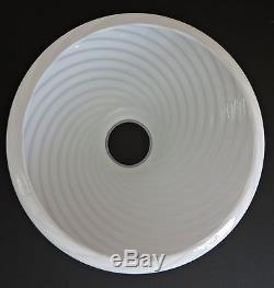 Vetri Venini Floor Lamp Shade Art Murano Glass Chandelier
