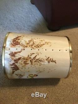Van Briggle White Butterfly Lampshade Vintage Beautiful Condition