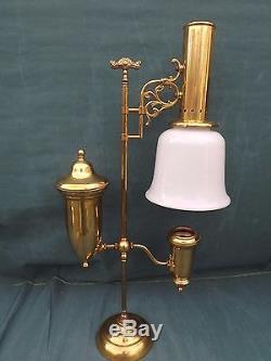 Vintage Brass 75th Anniversary Aladdin Student Lamp Shade