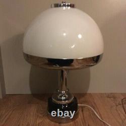 Vintage Harvey Guzzini Mushroom Table Lamp 1970s