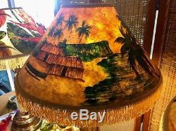 Vintage Hula Lamp Lampshade