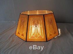 Vintage Lamp Shade Mutual Sunset Lamp Co. Large Screen Shade Withoriginal  Tag