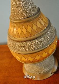 Vintage Maria Kipp Lampshade Woven Bamboo Quartite Creative Corp Lamp 1960 Eames