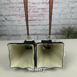 Vintage Pair of Chelsea House Table Lamps with Shades. 36-Tall