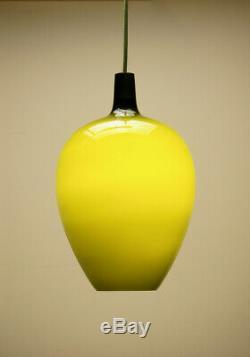 Vintage Pompei Pendant Ceiling Light Hammerborg Fog Morup 60s, Retro Danish Lamp