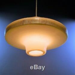 Vintage Rotaflex 14.6 UFO Lamp Shade Mid Century 50s John & Sylvia Reid Heifetz