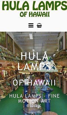 Vintage Style Hula Lamp Lampshade