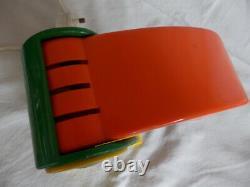 Vintage Toucan plastic light Ferrari Italian design 1970's