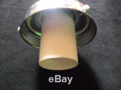 Vintage art deco Ceiling lamp 1920/30. Creme opaline glass! Original