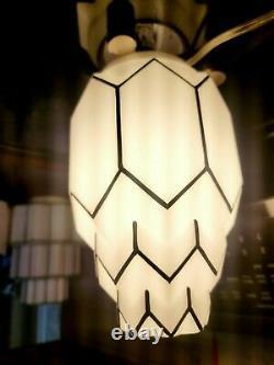 Vintage art deco glass lamp shade